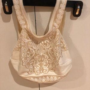 For love and lemons white bra top